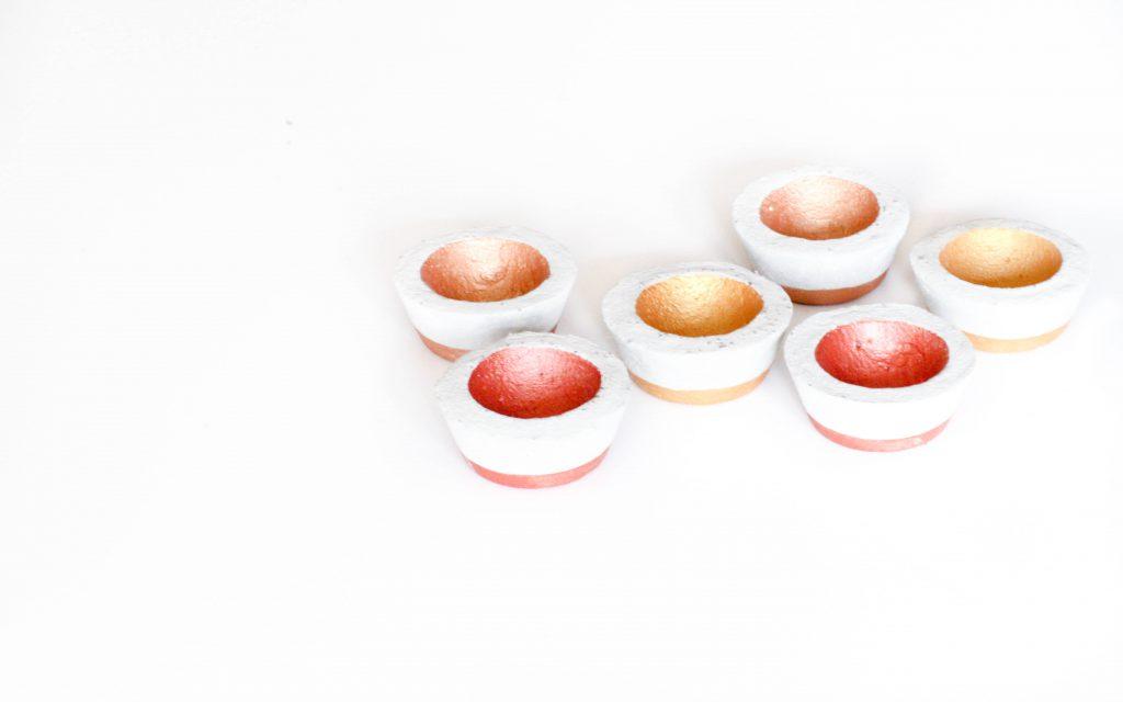 Eierbecher aus Beton