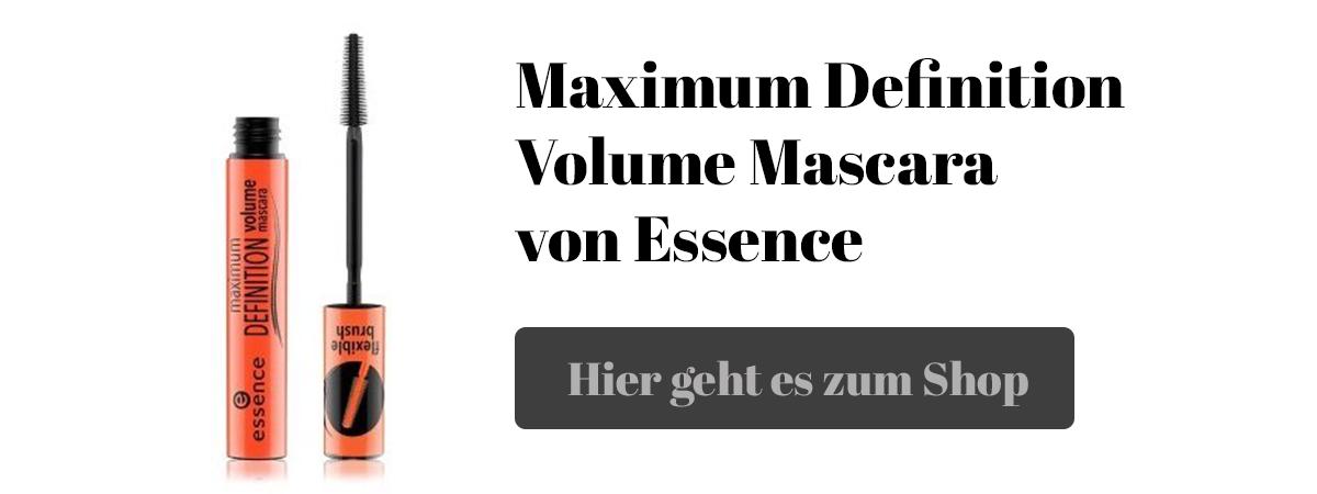 Mascara Maximum Definition Volume von Essence